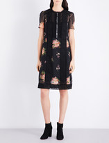 Coach Floral chiffon dress