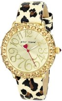 Betsey Johnson Women's BJ00307-06 Analog Display Quartz Watch