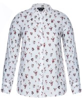 City Chic Flower Rain Top