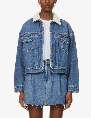 Levi's New Heritage Sherpa Trucker denim jacket