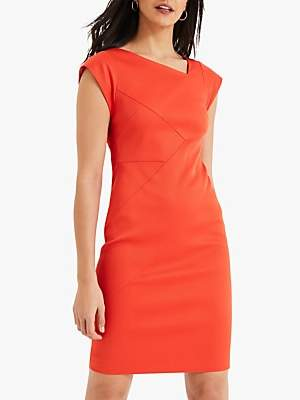 Damsel in a Dress Cassy Fitted Dress, Orange