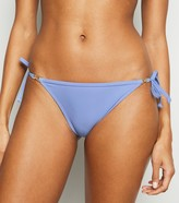 New Look Embellished Tie Side Bikini Bottoms