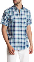 Ben Sherman Plaid Short Sleeve Regular Fit Shirt