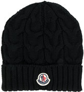 Moncler cable knit beanie - kids - Virgin Wool - 40 cm