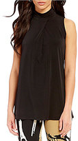 Eva Varro Turtle Neck Sleeveless Tunic