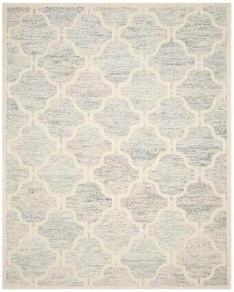 Safavieh Cambridge Collection CAM727 Rug, Light Grey/Ivory, 8'x10'