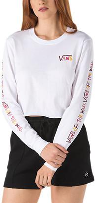 Vans School U Long Sleeve Crop Tee