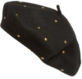 Sole Society Studded Beret