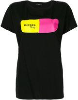 Diesel pill print T-shirt