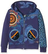 Desigual Girl's Sweat_Dante Sweatshirt, Blue (5 Twilight 5), (Manufacturer size: 5/6)