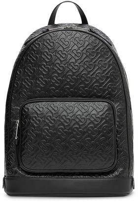 Burberry Embossed Monogram Backpack
