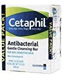 Cetaphil Antibacterial Gentle Cleansing Bar Value Pack - 3PC