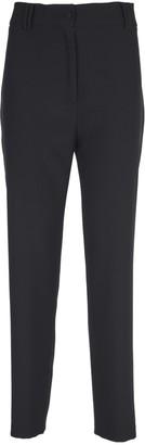 Hebe Studio Black Cady Trousers