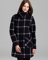 WOOLRICH JOHN RICH & BROS Coat - Greenland Plaid Heritage