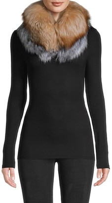 Belle Fare Fox Fur Collar