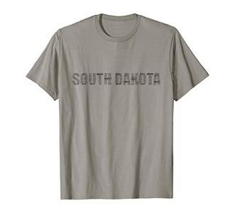 Dakota South Rapid City State T-shirt South Home Tee T-Shirt