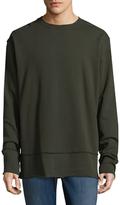 BLK DNM 75 Solid Crewneck Sweatshirt
