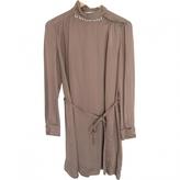 Chloé Brown Silk Dress
