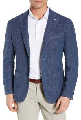 Lubiam Trim Fit Cotton Blend Sport Coat
