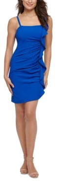 GUESS Ruffled Bodycon Dress