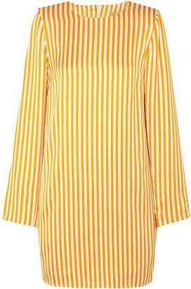 Maggie Marilyn Striped Twill Mini Dress