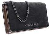 Versace Ee3vobpi1 E899 Black Wallet On A Chain.