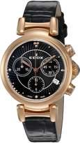 Edox Women's 10220 37RC NIR LaPassion Analog Display Swiss Quartz Watch