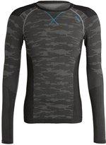 Odlo Evolution Warm Undershirt Concrete Grey/black/blue Jewel