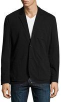 James Perse Slub Jersey Two-Button Blazer