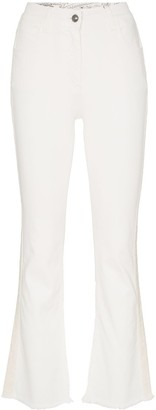 Etro Cropped Flared Jeans