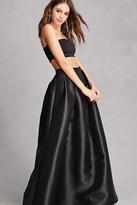 Forever 21 Woven High-Waist Maxi Skirt