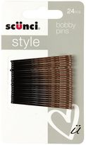 Scunci Style Ombre Bobby Pins 24pk Brunette/Bronze