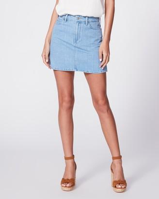 Paige Aideen Skirt Double Belt Loop-Santee Stripe