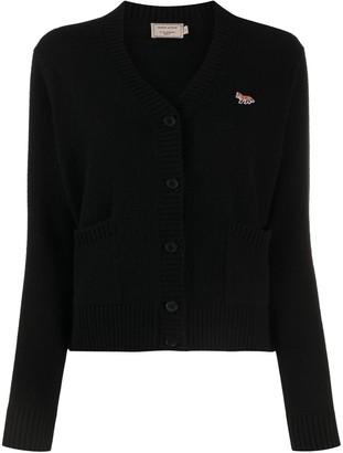 MAISON KITSUNÉ Cardigan-Layered Top