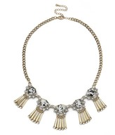 Sole Society Deco Fringe Statement Necklace