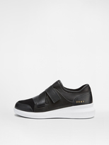 DKNY Tilly Slip On With Leather And Haircalf