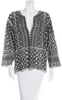 Etoile Isabel Marant Printed Long Sleeve Tunic
