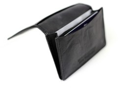 Champs Genuine Leather Rfid Blocking Slim Card Holder