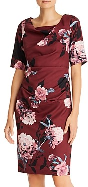 Adrianna Papell Roses Sheath Dress - 100% Exclusive