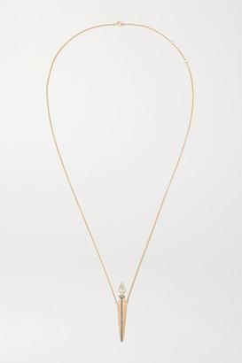 Diane Kordas Amulette 18-karat Rose Gold Diamond Necklace - one size