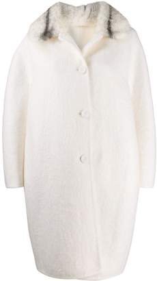 Ermanno Scervino oversized peacoat