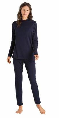 Hanro Women's Luana Long Sleeve Pajama Set