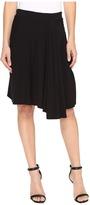 Mod-o-doc Cotton Modal Spandex Jersey Short Hi-Low Hem Skirt