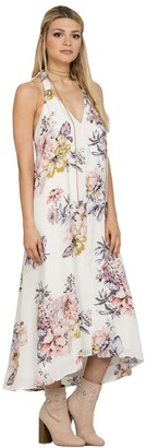 Ark & Co Women's Floral Print Maxi Dress
