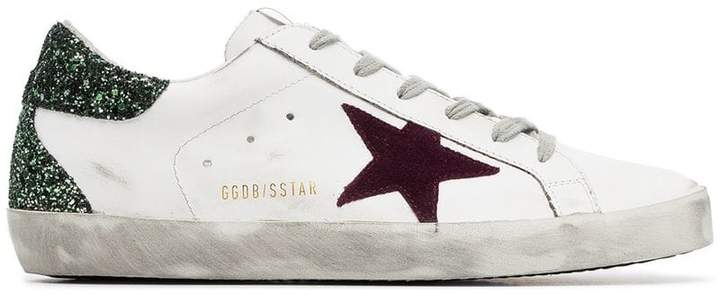 Golden Goose glitter Superstar sneakers