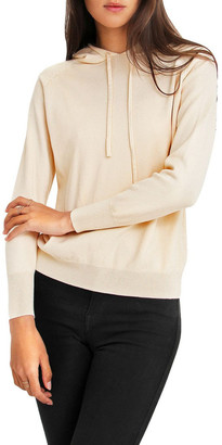 Belle & Bloom School Boy Cream Hooded Jumper