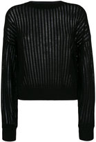 Theory ribbed detail jumper - women - Merino - S