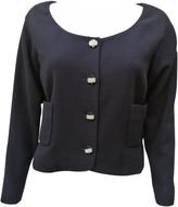 Chanel Black Wool Jackets