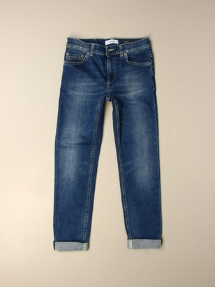 Dondup Ritchie Jeans In Eco-sustainable Used Denim