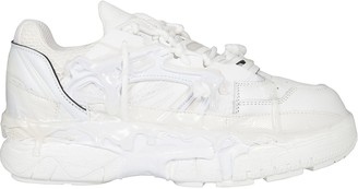 Maison Margiela Melted Detail Laced-up Sneakers